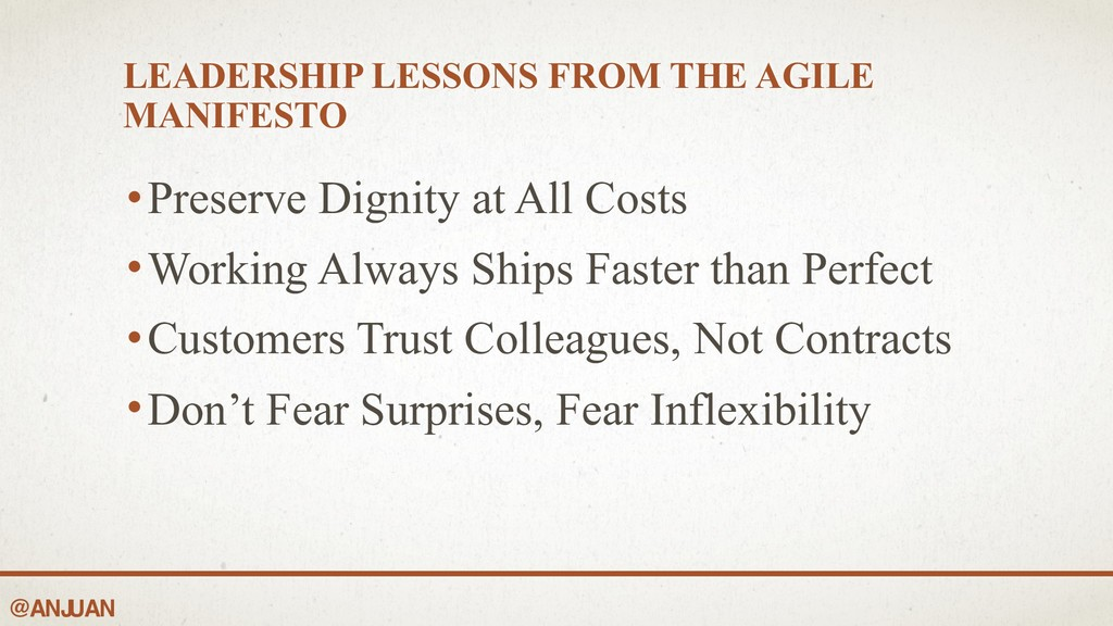 @ANJ UAN LEADERSHIP LESSONS FROM THE AGILE MANI...