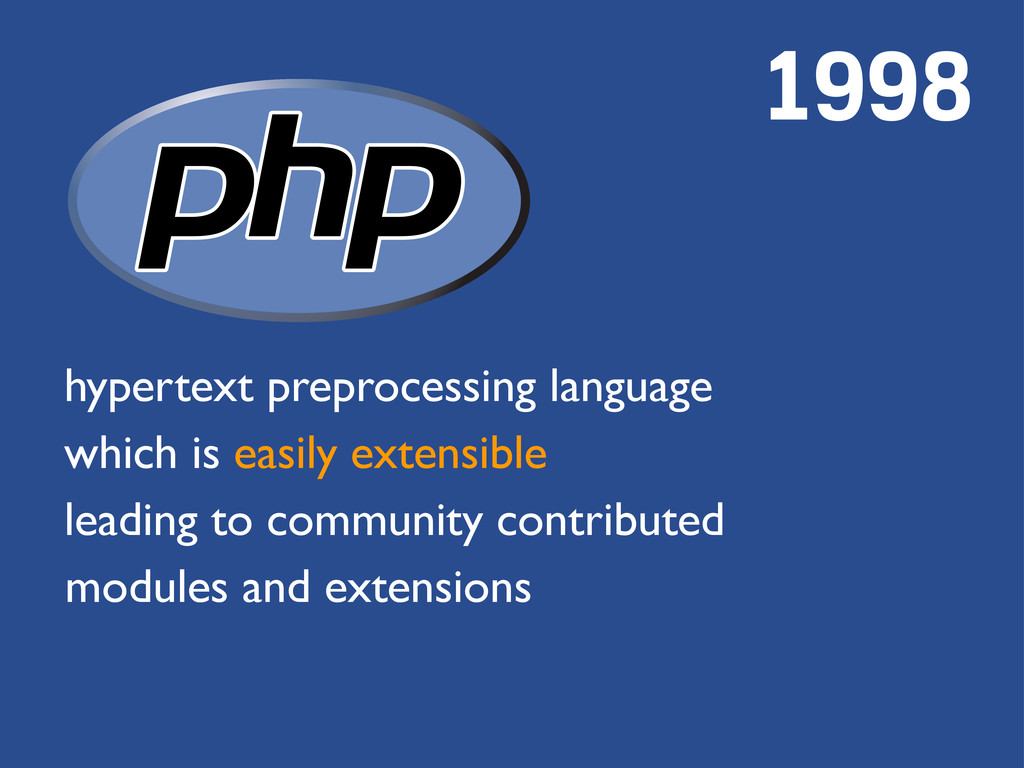 hypertext preprocessing language which is easil...