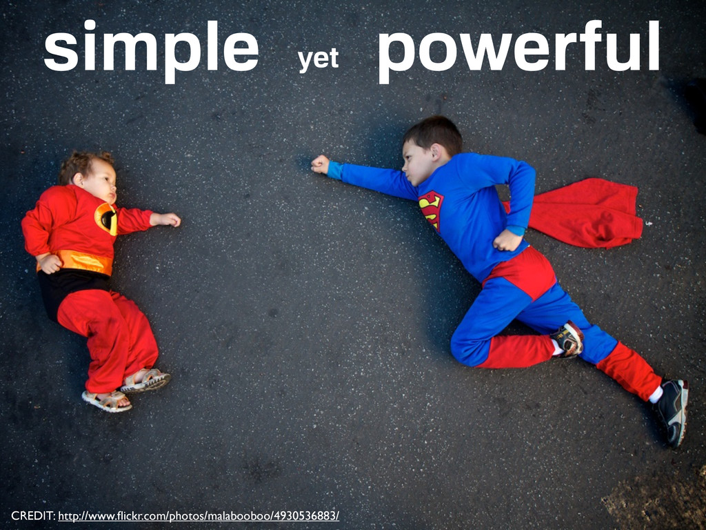 simple yet powerful CREDIT: http://www.flickr.co...