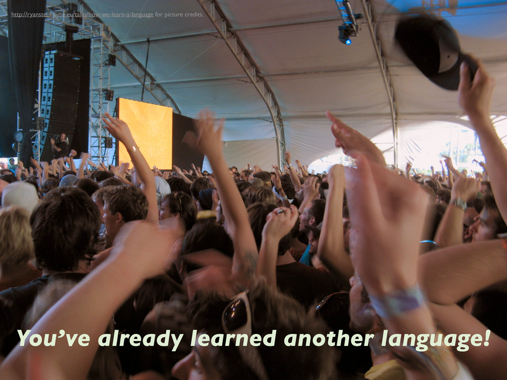 You've already learned another language! http:/...
