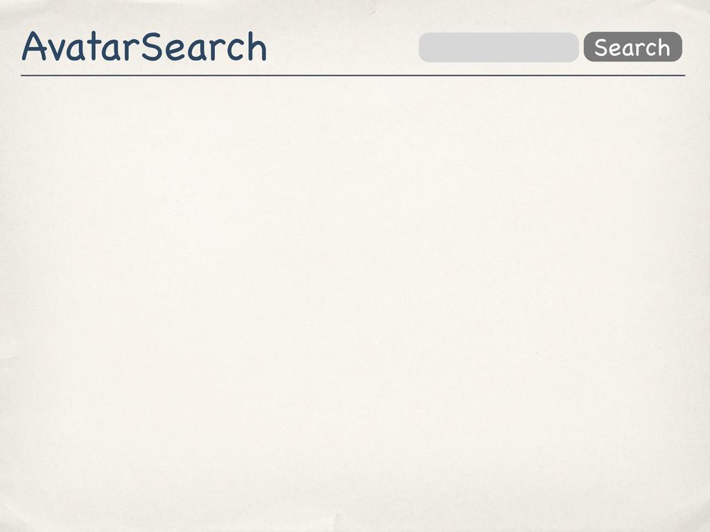 AvatarSearch Search