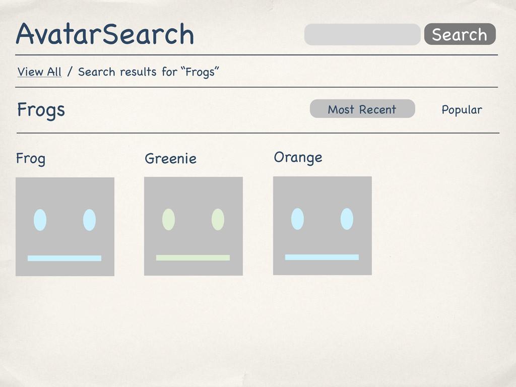 AvatarSearch Search Orange Greenie Frog Most Re...