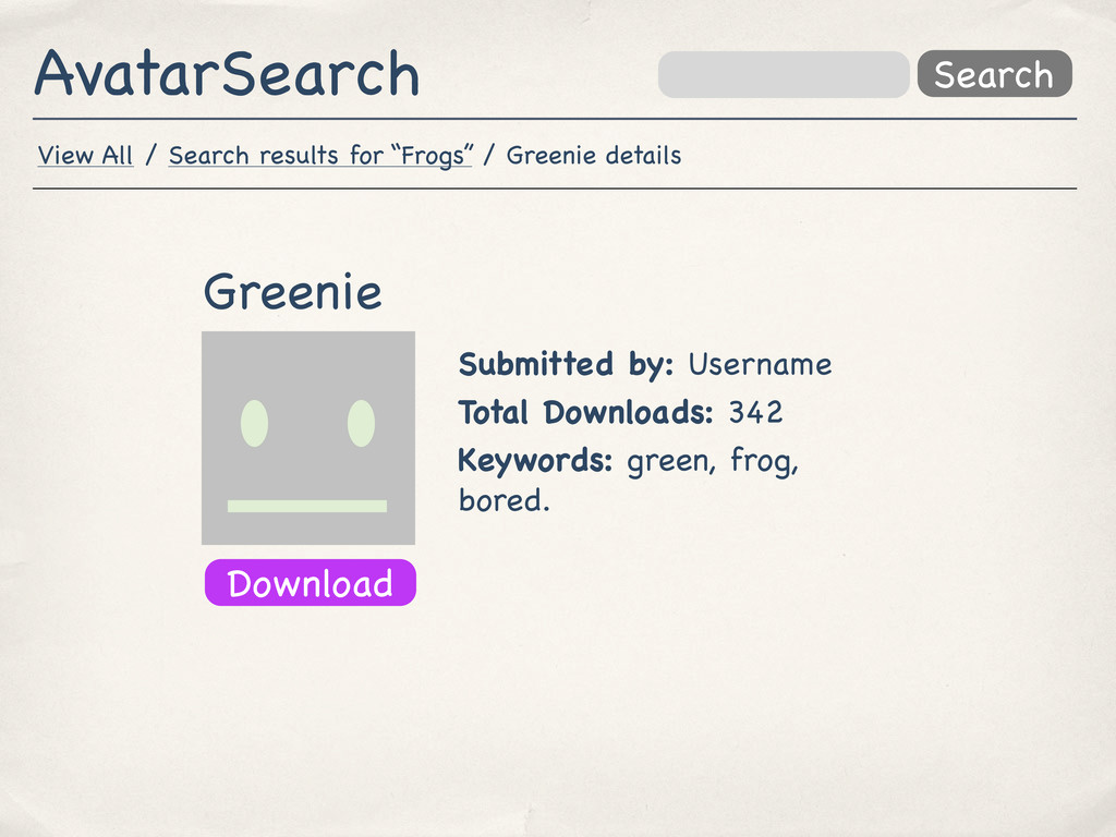 AvatarSearch Search Greenie Submitted by: Usern...