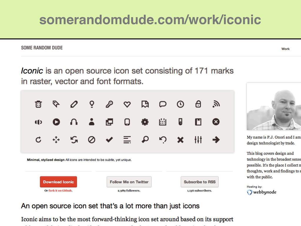 somerandomdude.com/work/iconic