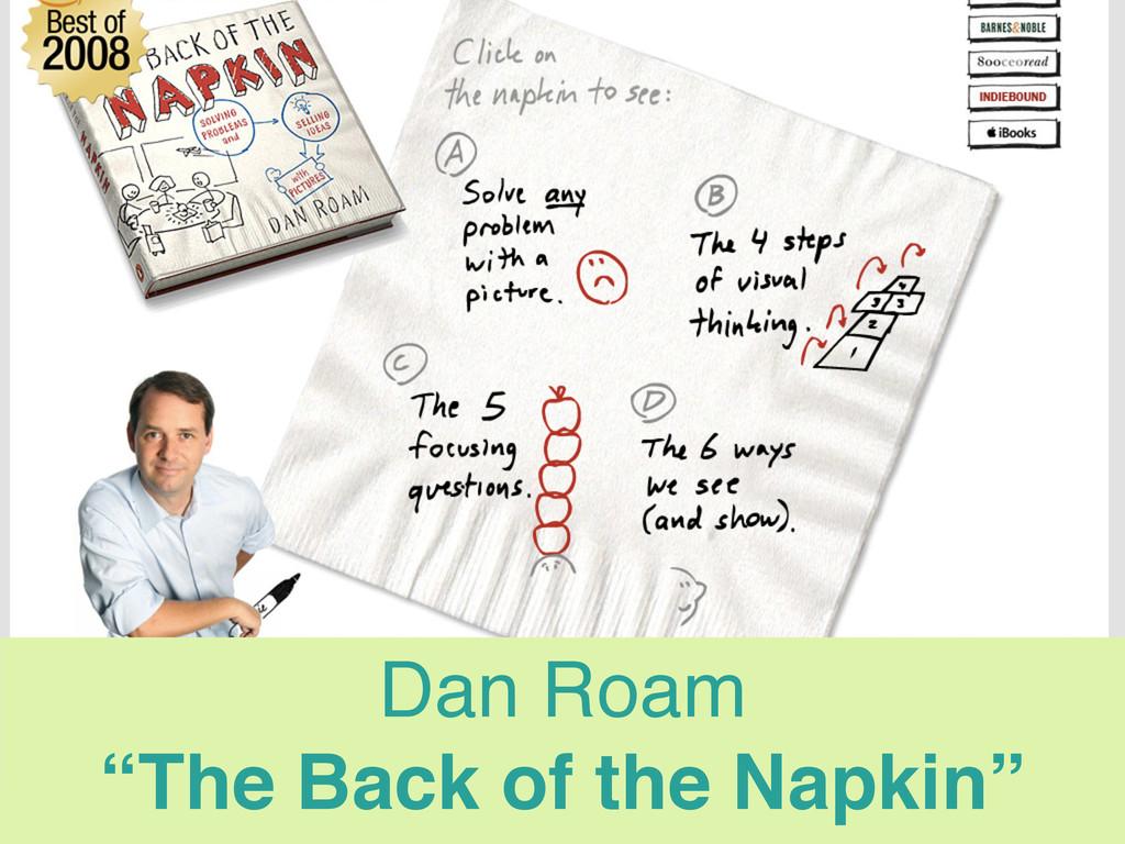 """Dan Roam """"The Back of the Napkin"""" Steve Krug """"D..."""
