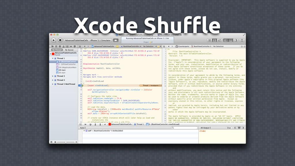 Xcode Shuffle
