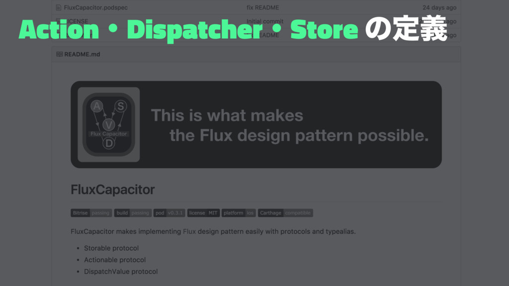 ActionɾDispatcherɾStore ͷఆٛ