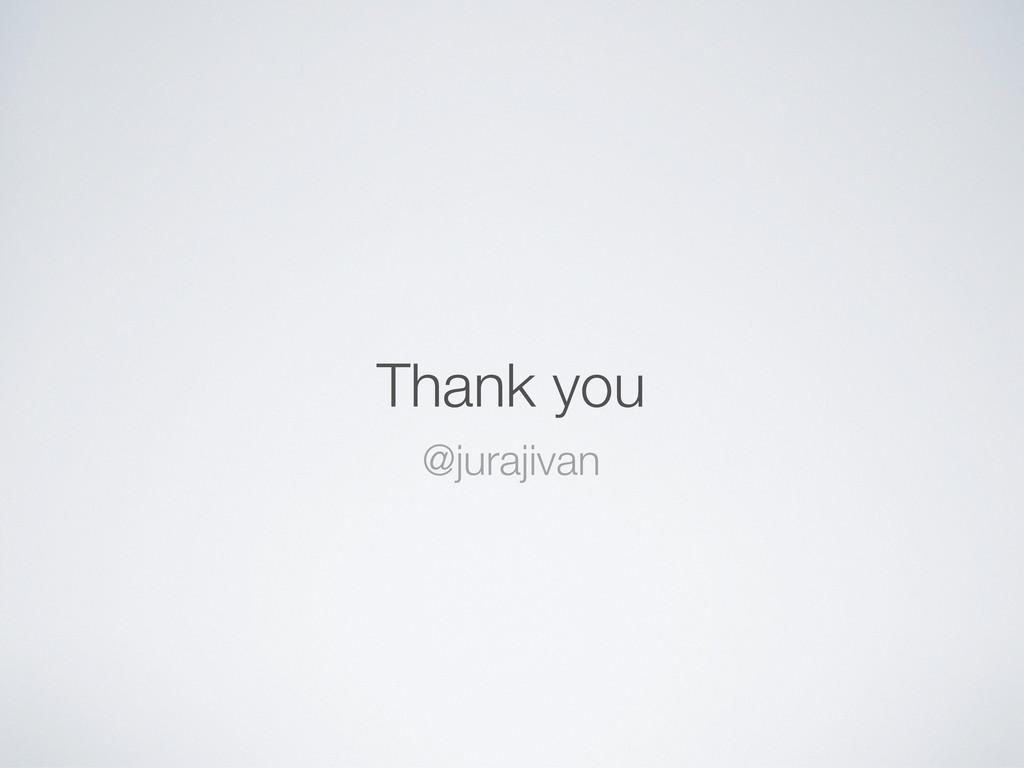 Thank you @jurajivan