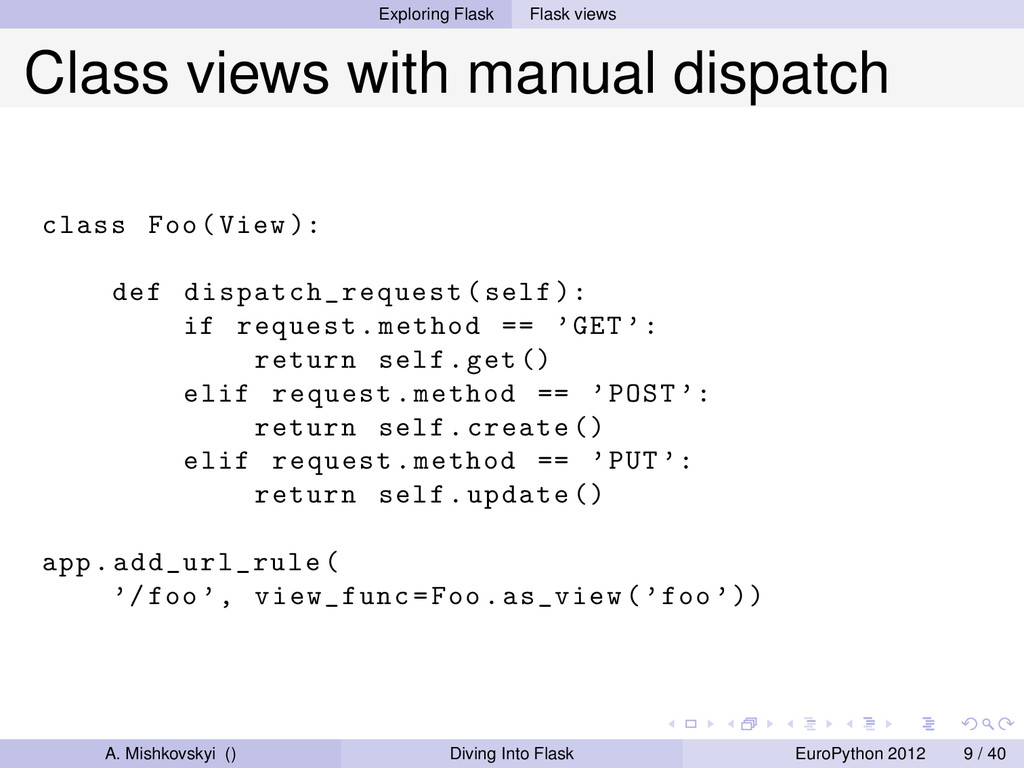 Exploring Flask Flask views Class views with ma...