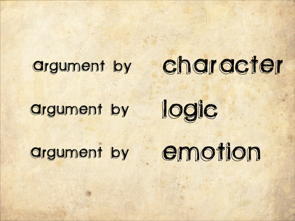character Argument by Argument by Argument by l...