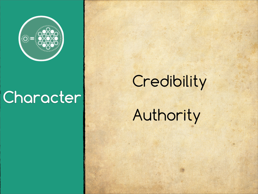 Character Credibility Authority