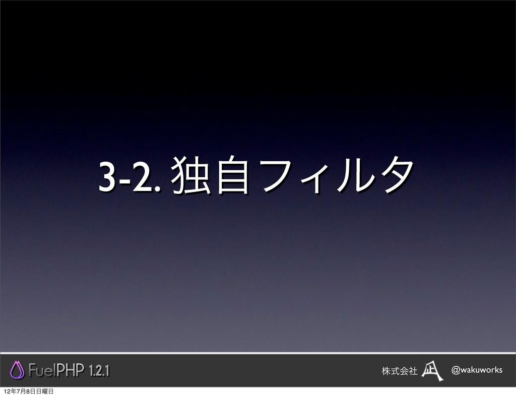 3-2. ಠࣗϑΟϧλ 1.2.1 @wakuworks גࣜձࣾ 127݄8༵