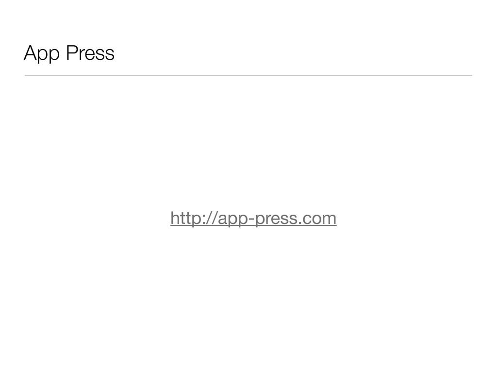 App Press http://app-press.com