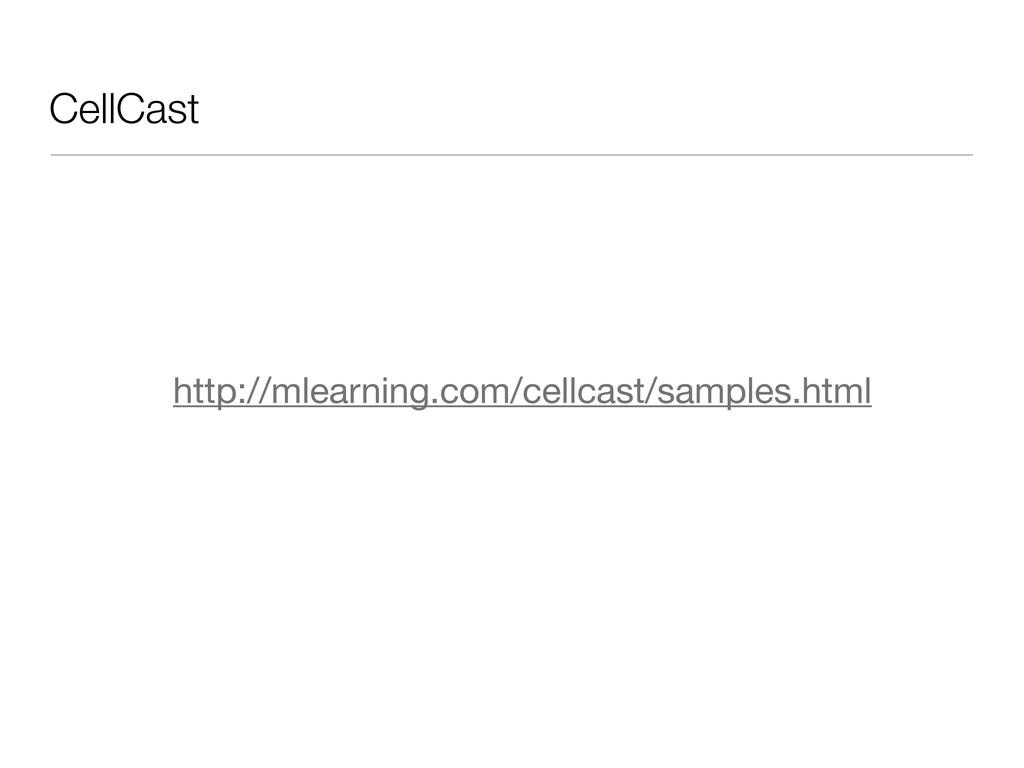 CellCast http://mlearning.com/cellcast/samples....