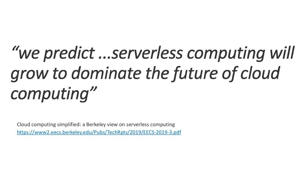 Cloud computing simplified: a Berkeley view on ...