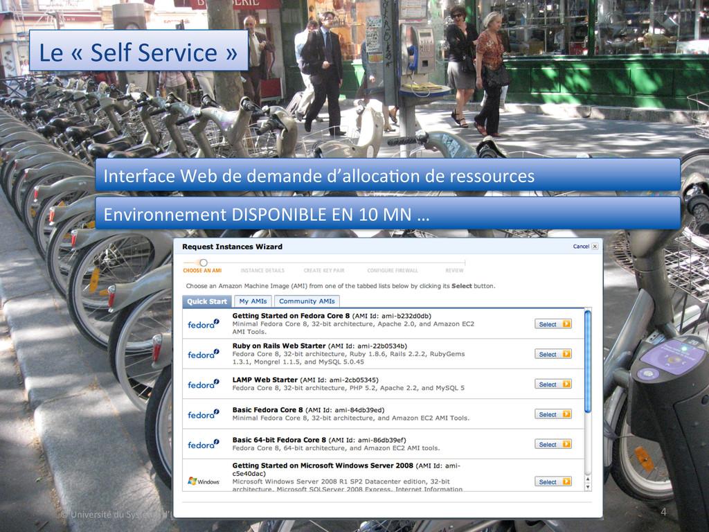 Le « Self Service »  4  © ...