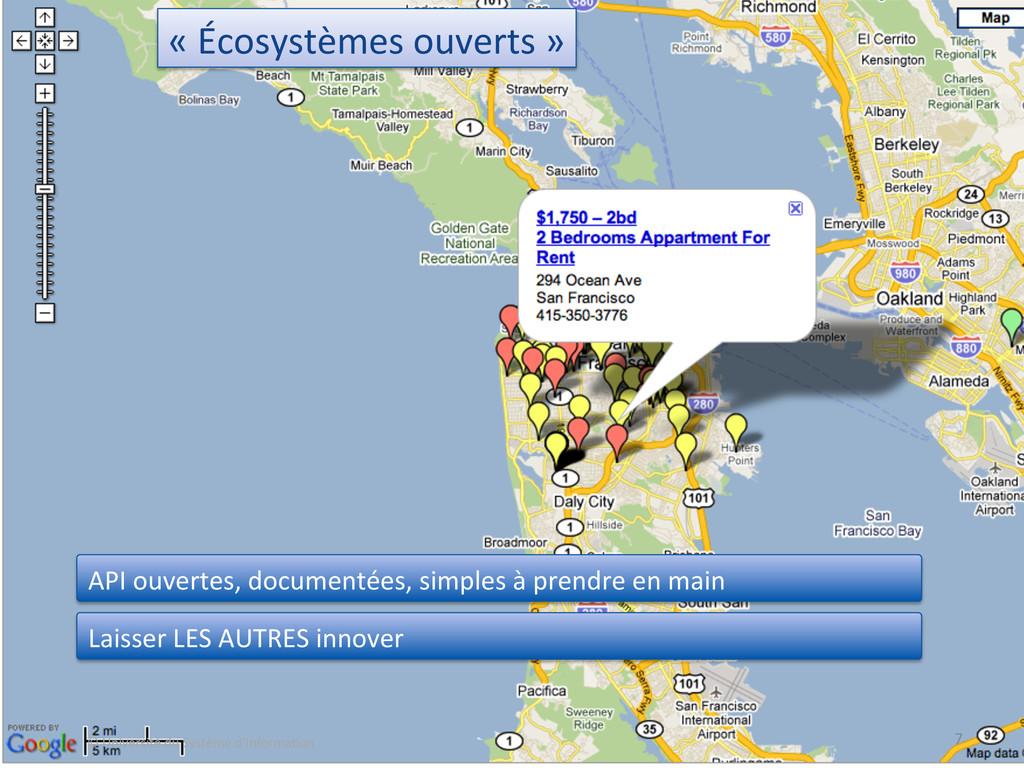 « Écosystèmes ouverts »  7  © ...