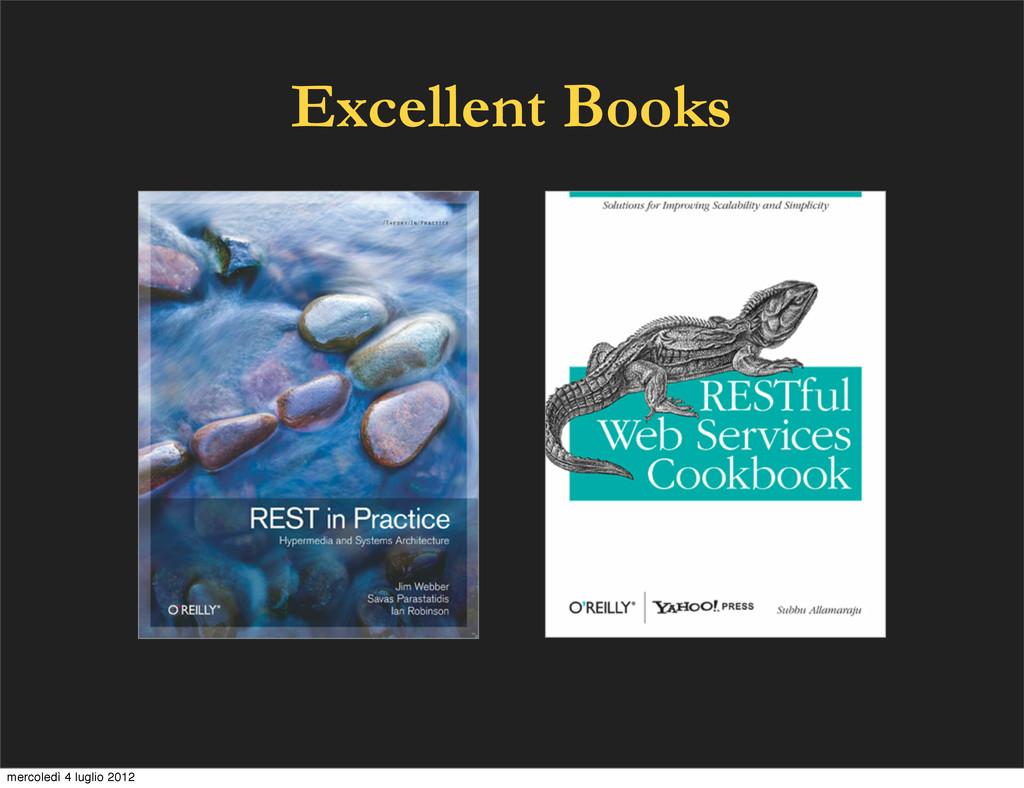 Excellent Books mercoledì 4 luglio 2012