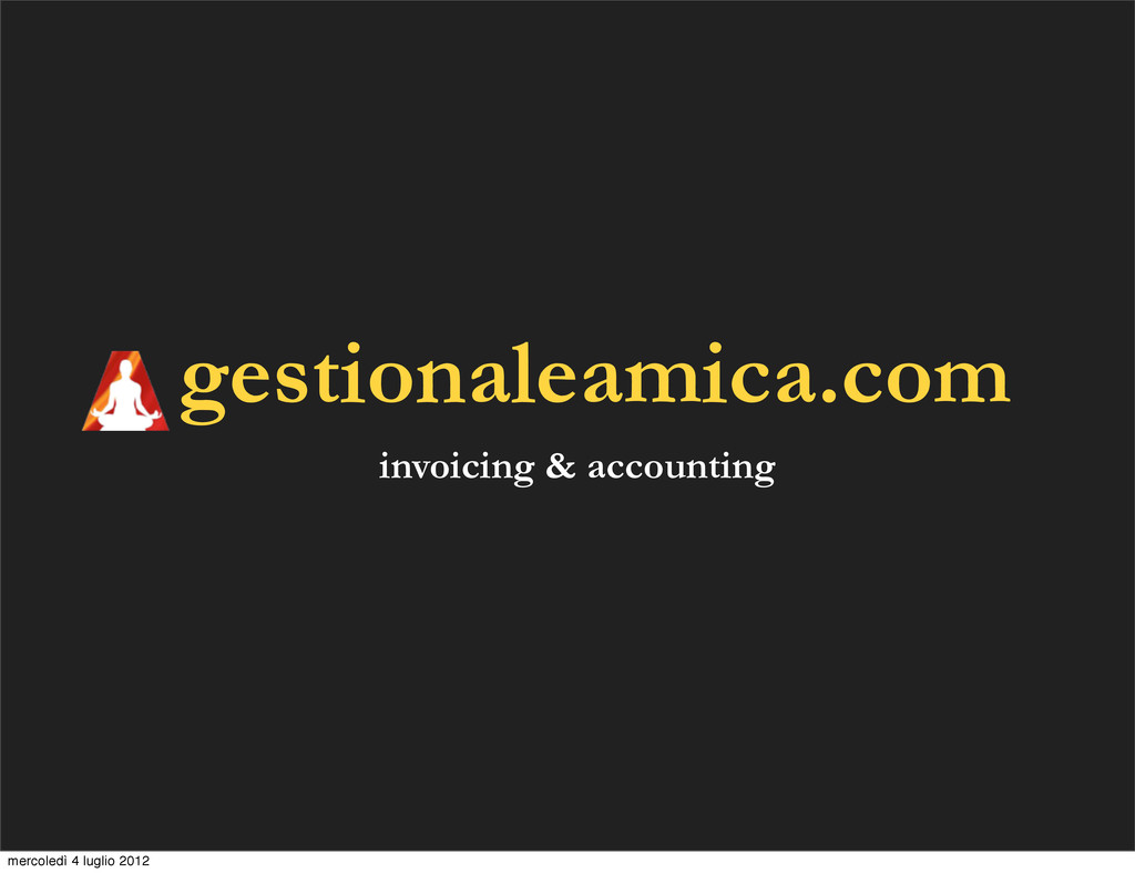 gestionaleamica.com invoicing & accounting merc...