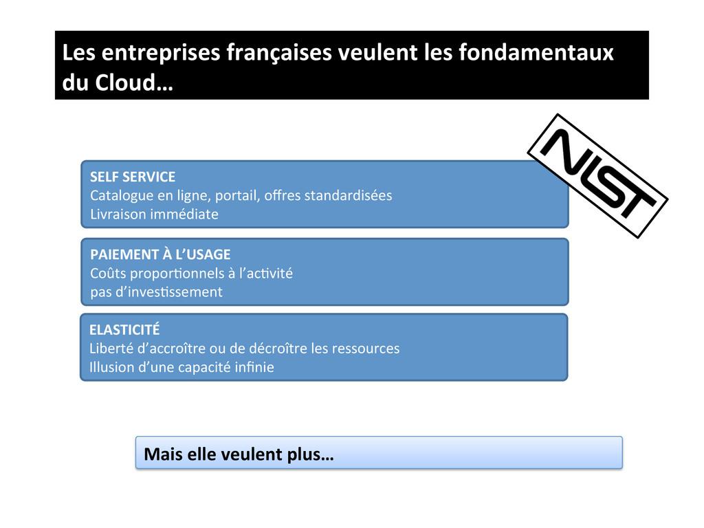 Les entreprises françaises veulent ...
