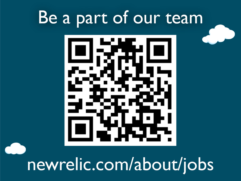 Be a part of our team newrelic.com/about/jobs