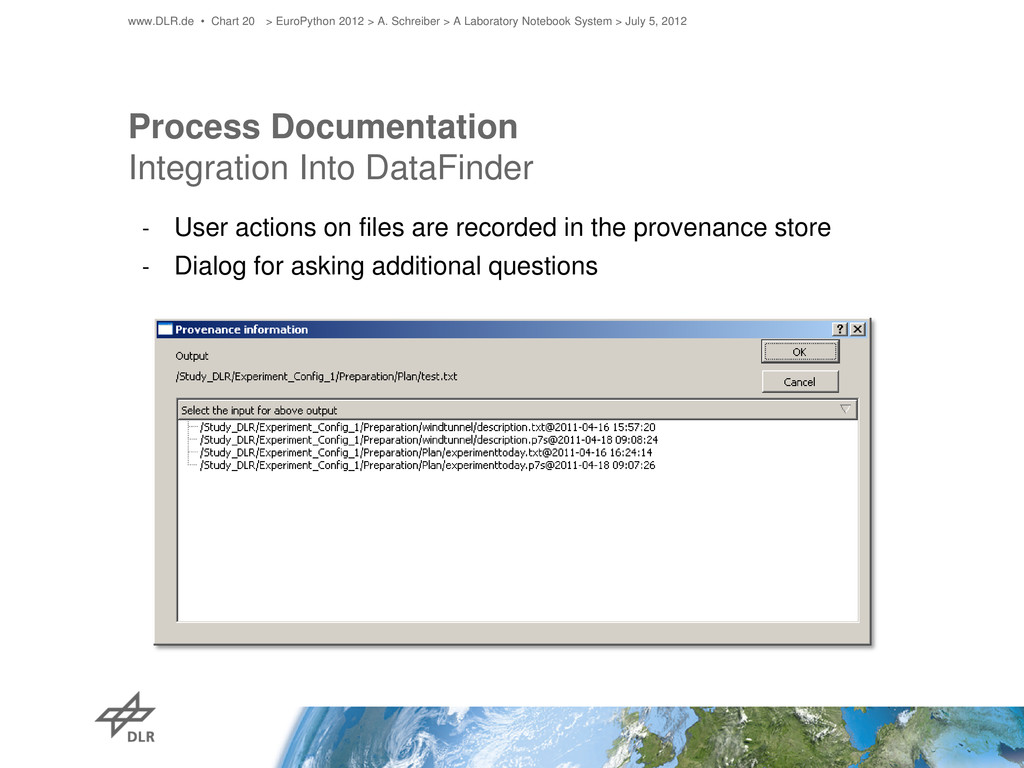 Process Documentation Integration Into DataFind...