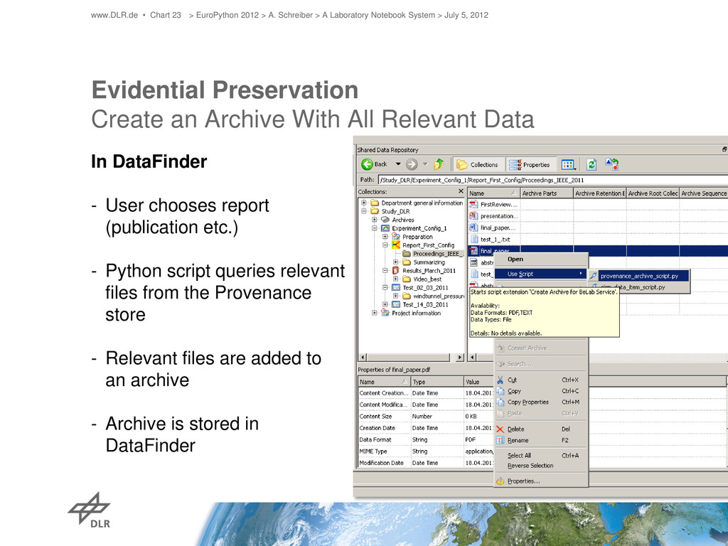 Evidential Preservation Create an Archive With ...