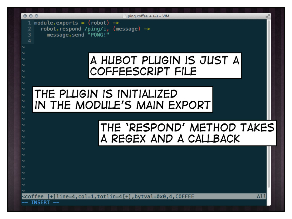 the plugin is initialized in the module's main ...