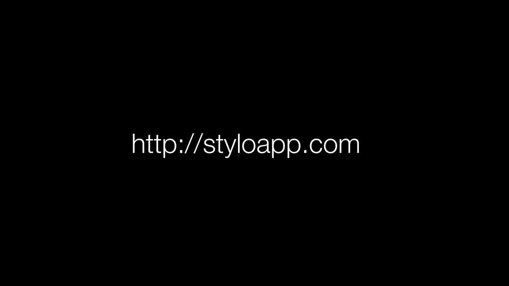 http://styloapp.com