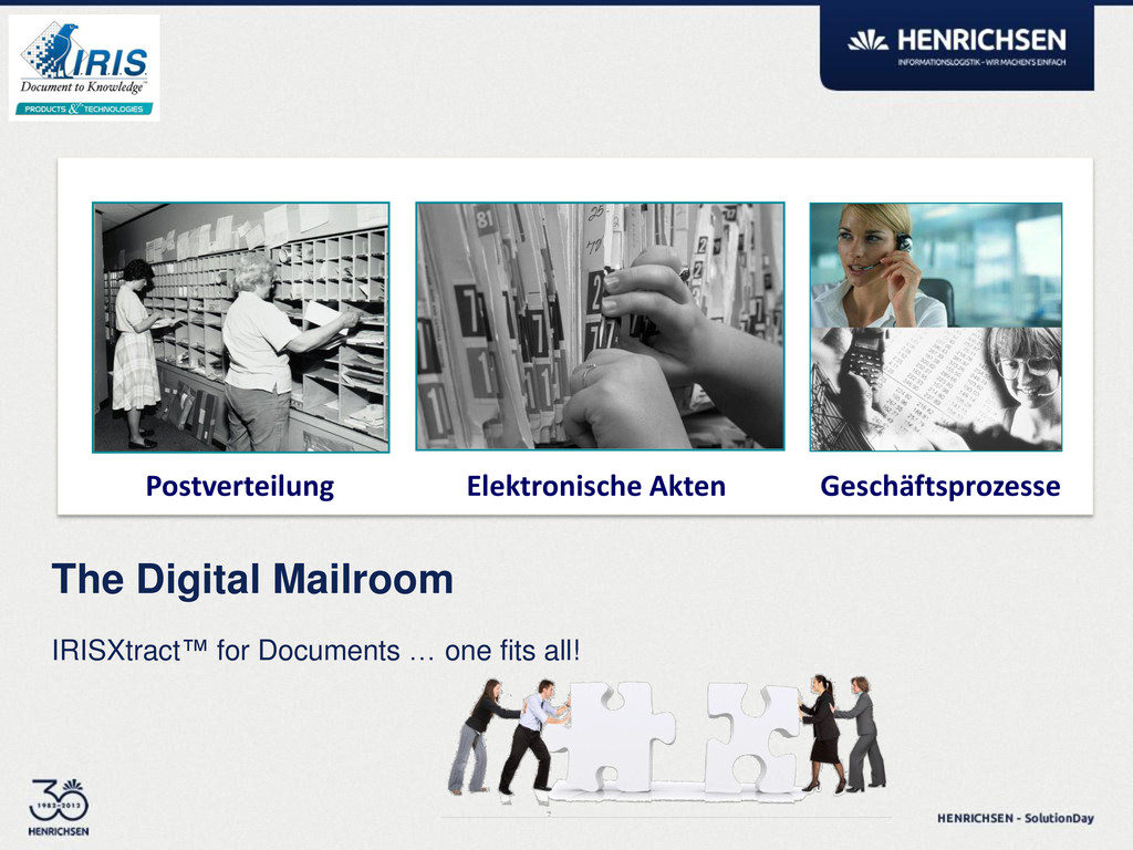 IRISXtract™ for Documents … one fits all! The D...