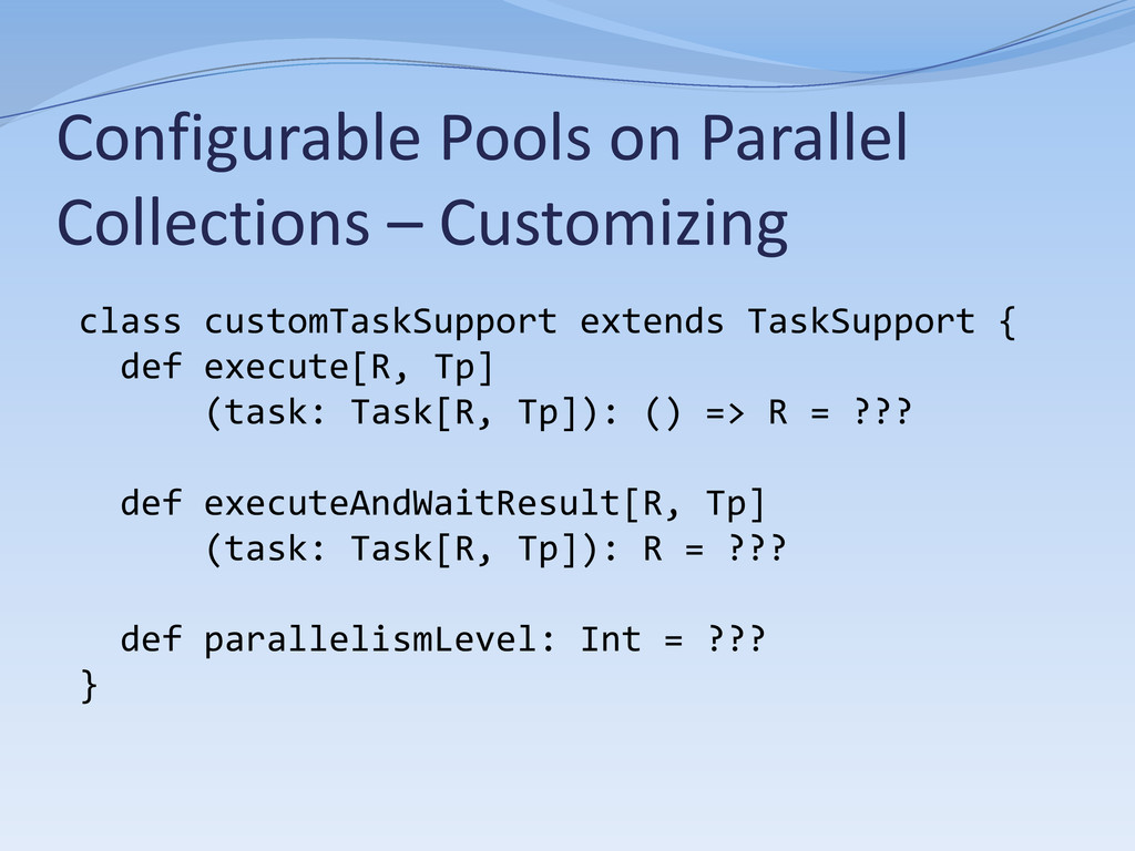 Configurable Pools on Parallel Collections – Cu...