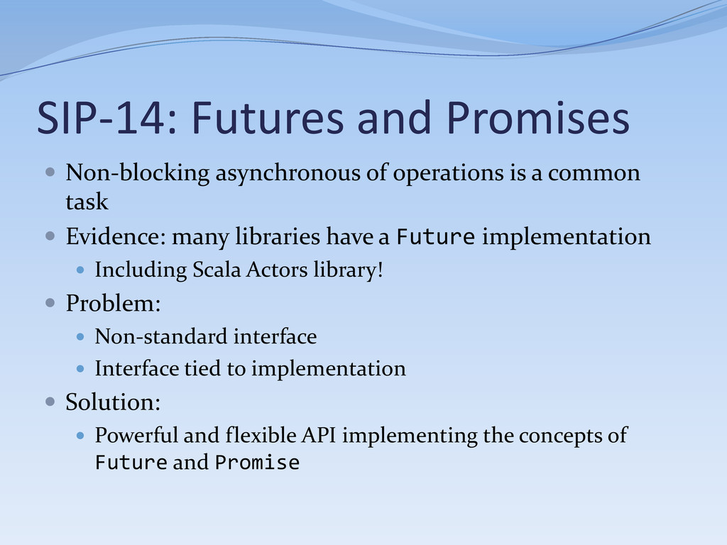 SIP-14: Futures and Promises  Non-blocking asy...
