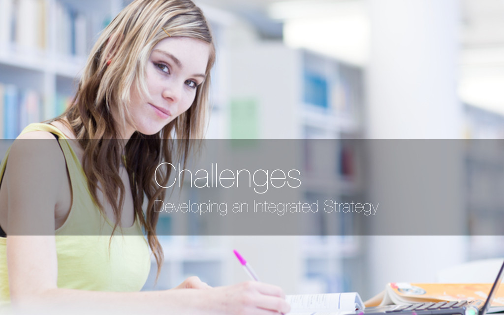 Developing an Integrated Strategy Challenges