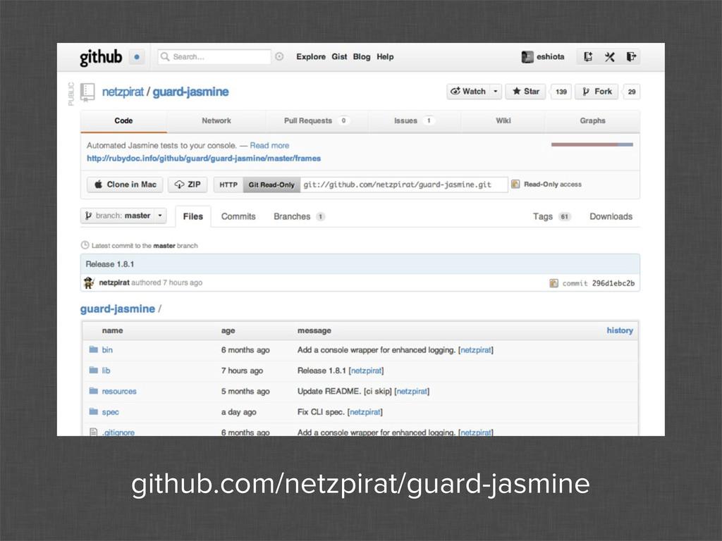 github.com/netzpirat/guard-jasmine