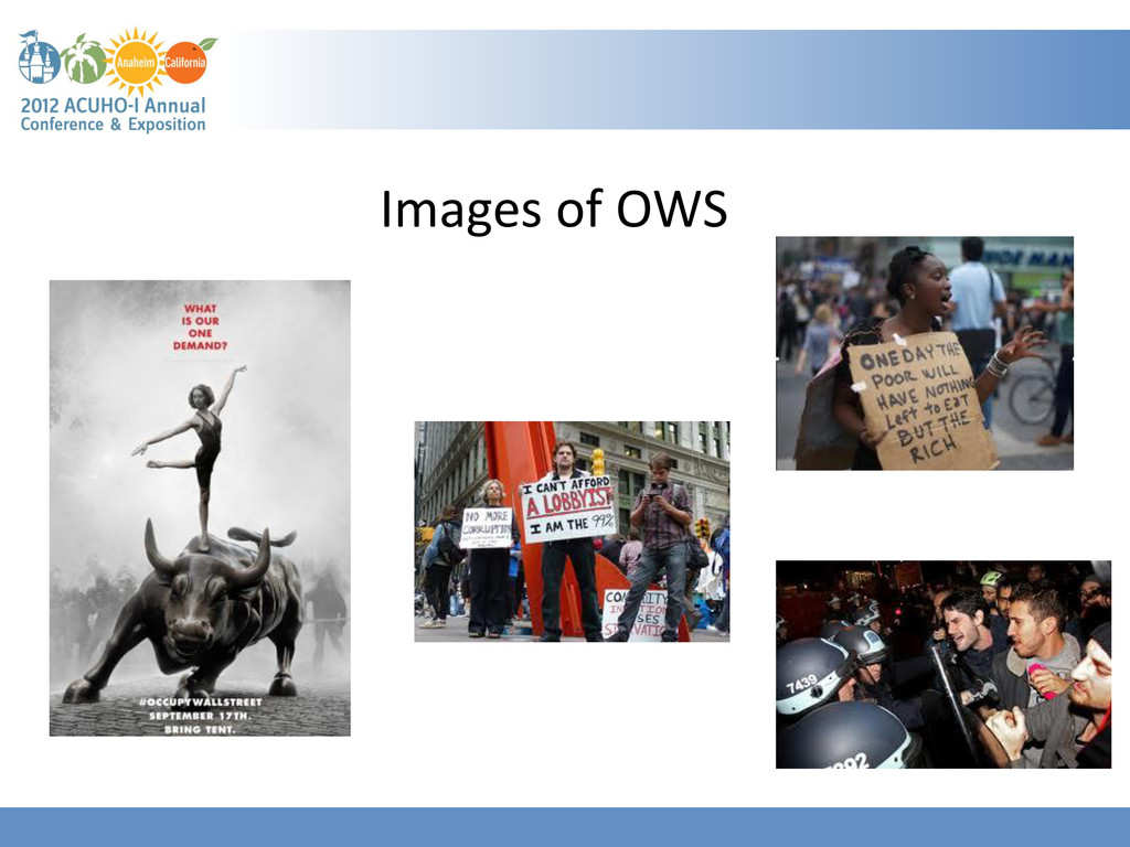 Images of OWS