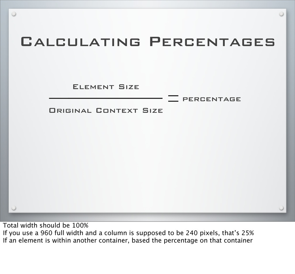 Calculating Percentages Element Size Original C...