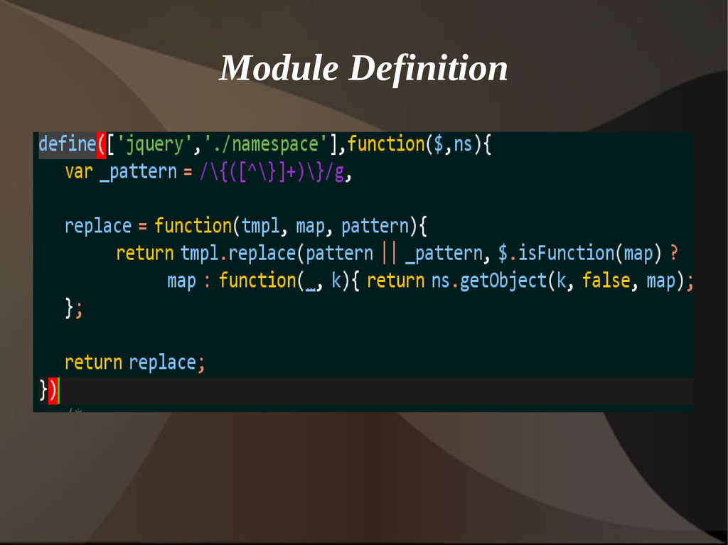 Module Definition