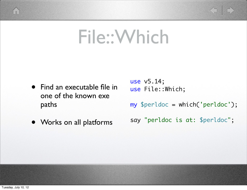 File::Which • Find an executable file in one of ...