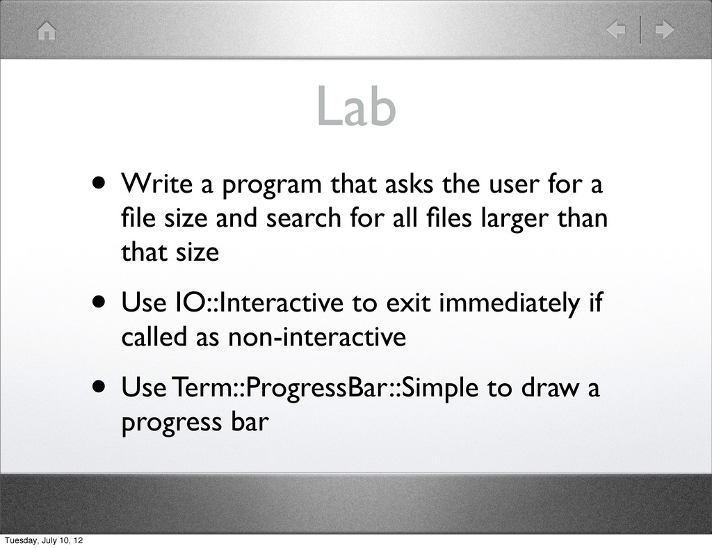 Lab • Write a program that asks the user for a ...
