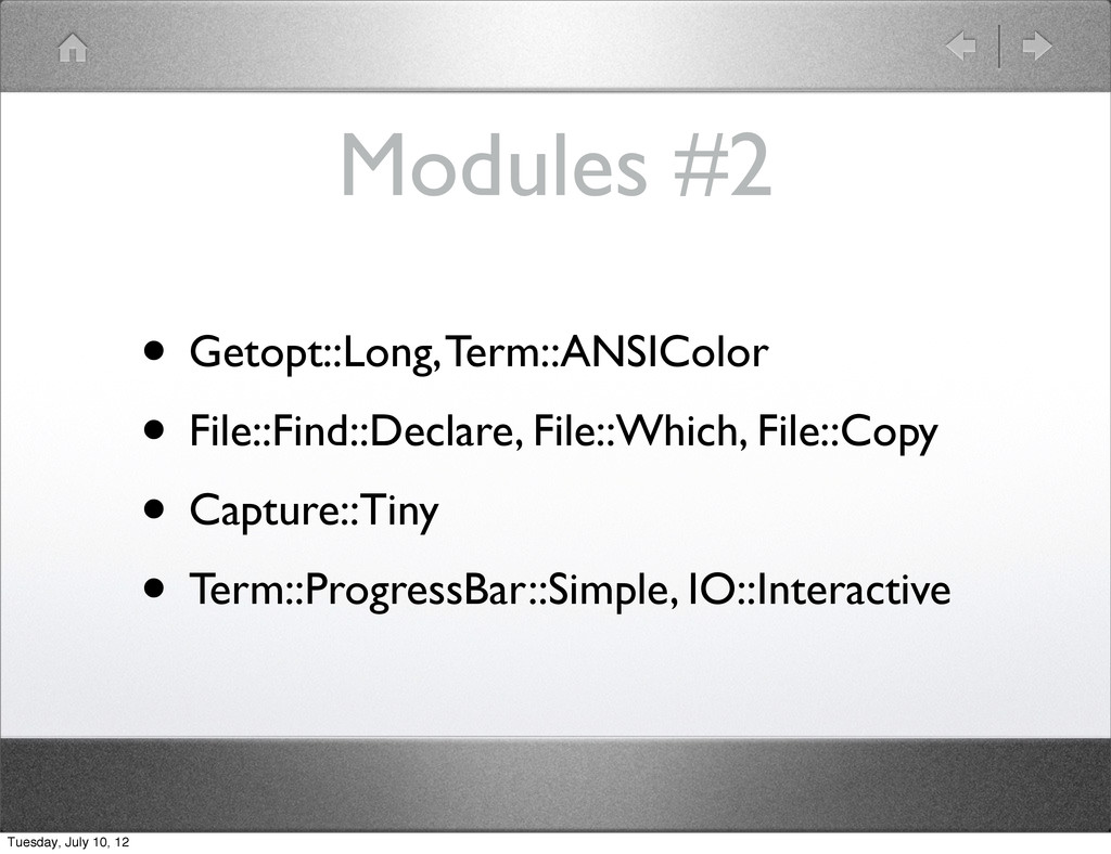 Modules #2 • Getopt::Long, Term::ANSIColor • Fi...