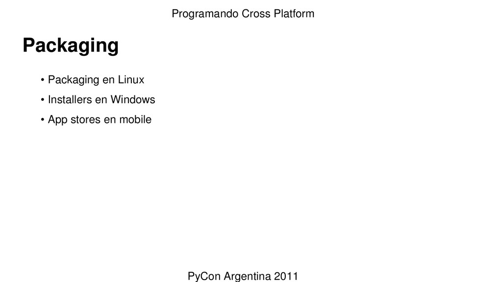 Packaging • Packaging en Linux • Installers en ...