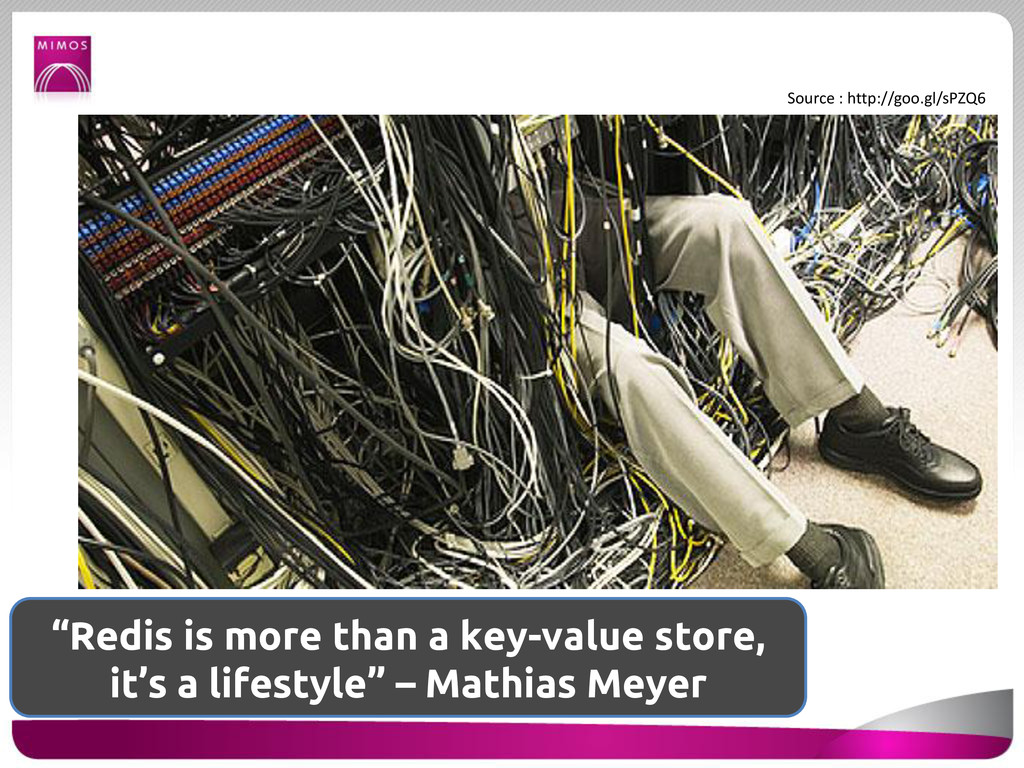 """""""Redis is more than a key-value store, it's a l..."""