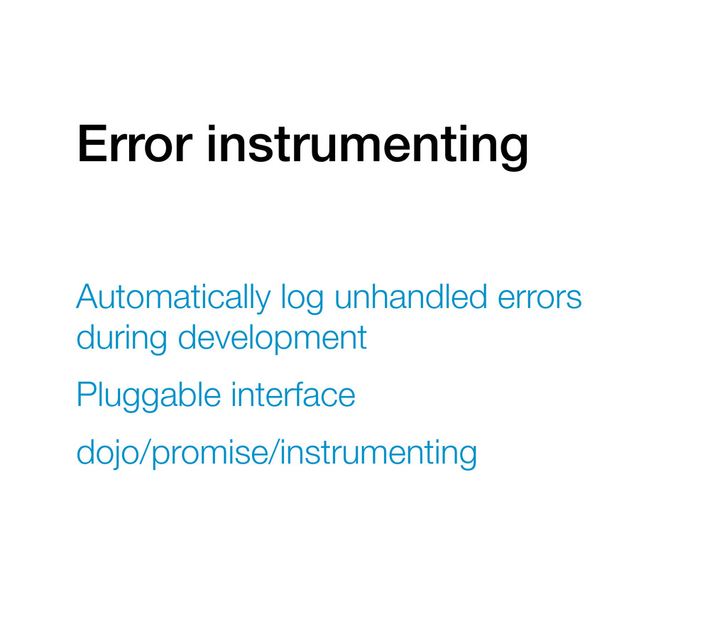 Error instrumenting Automatically log unhandled...