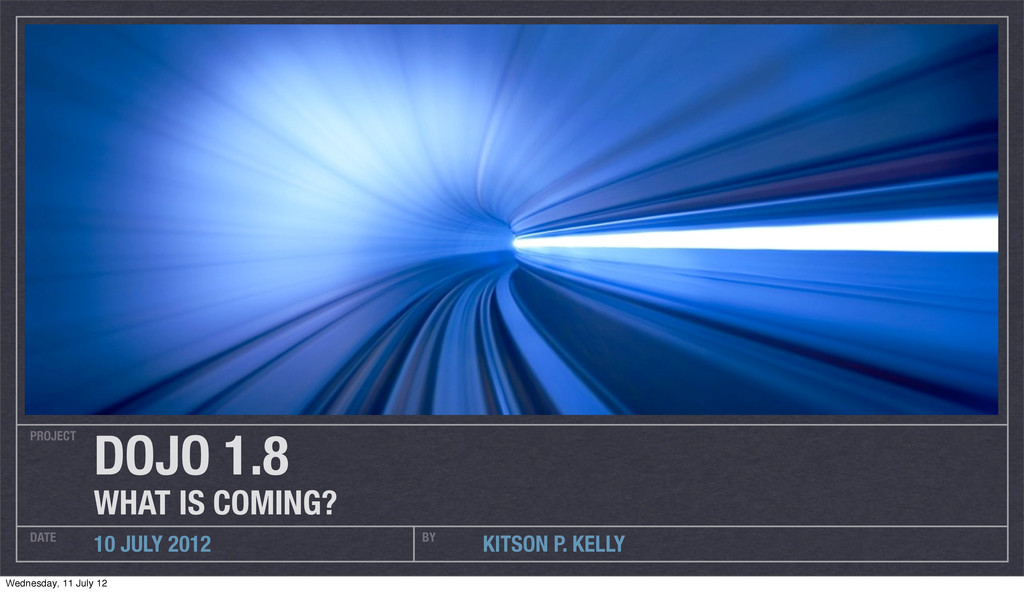 PROJECT DATE BY 10 JULY 2012 KITSON P. KELLY DO...