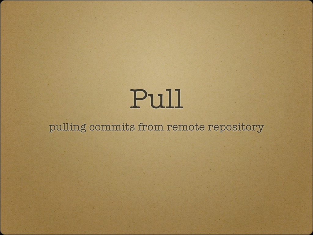 Pull pulling commits from remote repository