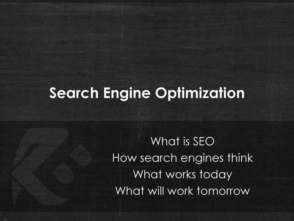 Search Engine Optimization What is SEO How sear...