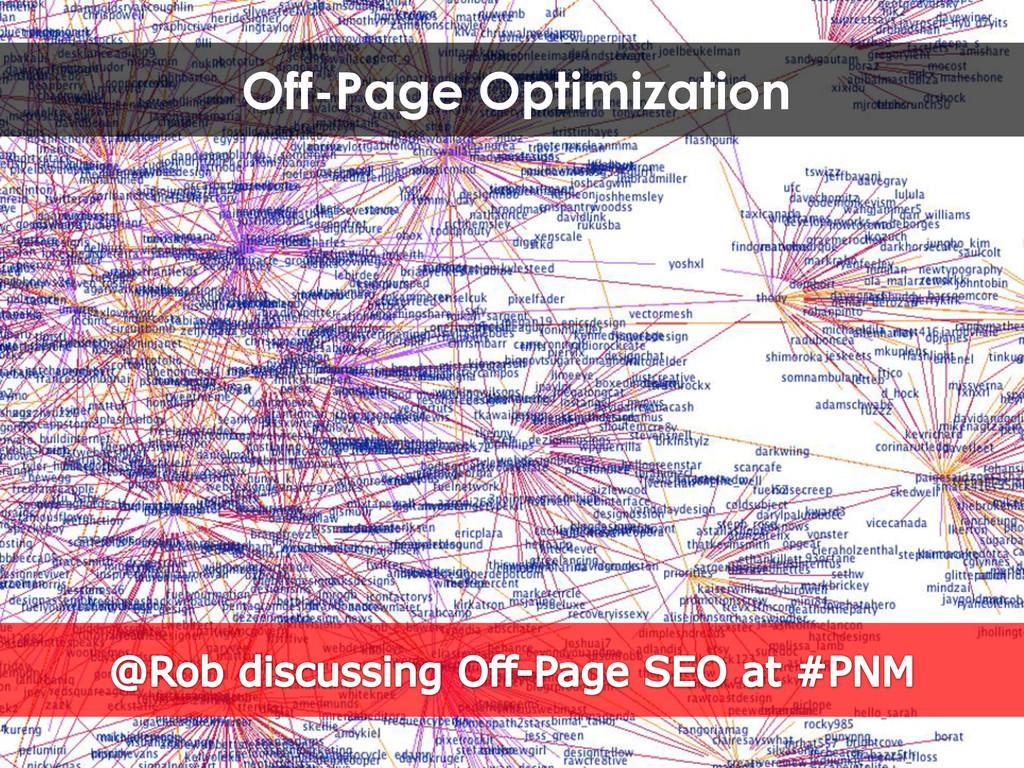 Off-Page Optimization