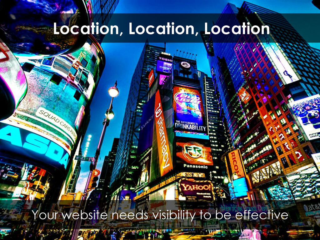 Your website needs visibility to be effective L...