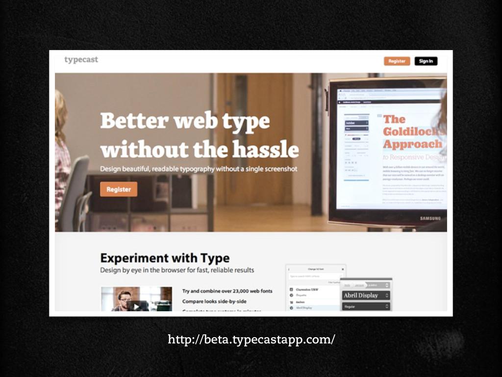 http://beta.typecastapp.com/