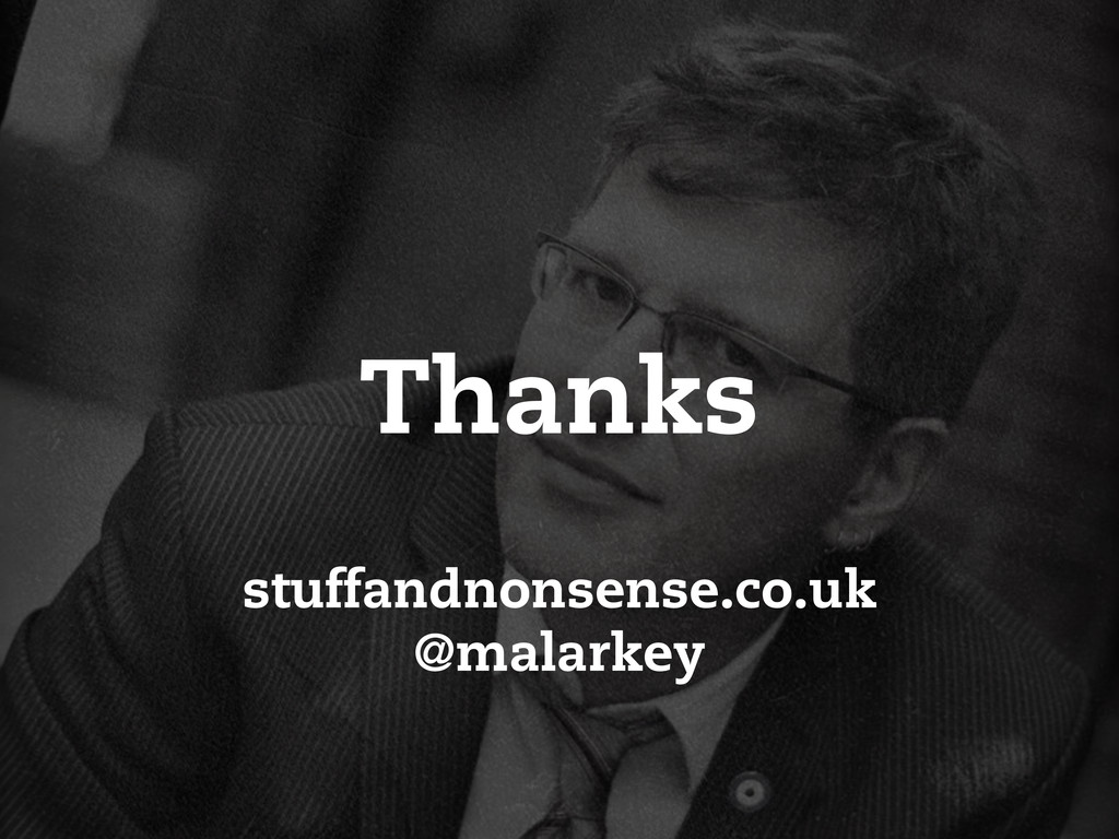 stuffandnonsense.co.uk @malarkey Thanks